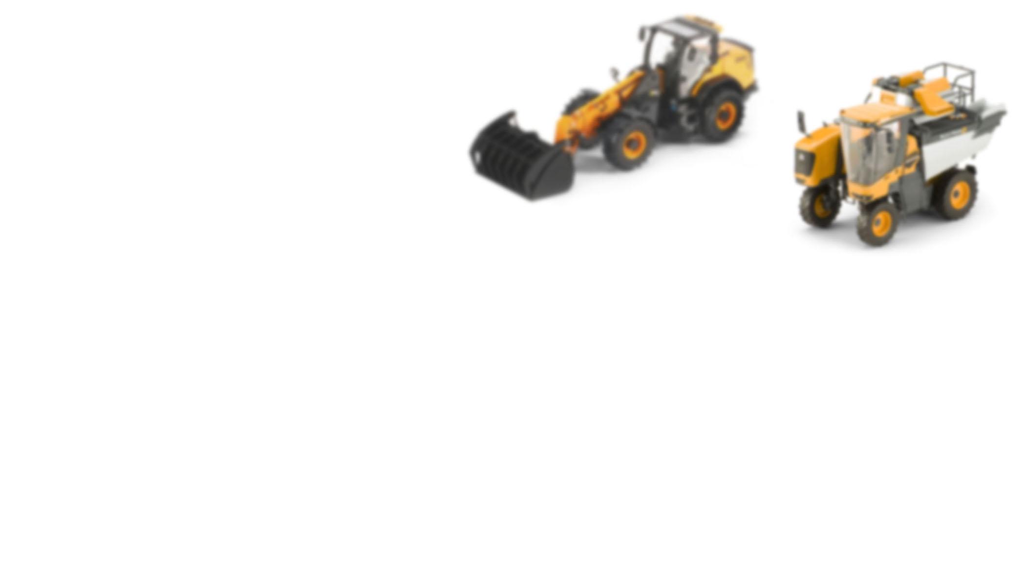 Modellini statici macchinari agricoli