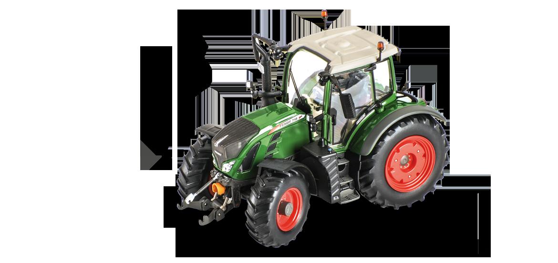 Modellino statico trattore di altissima qualità