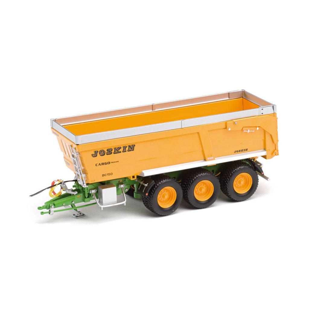 Modellino in scala rimorchio agricolo ribaltabile JOSKIN Cargo BC150