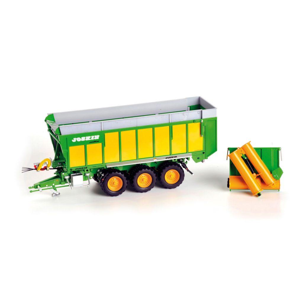 Modellino in scala rimorchio agricolo multiuso Joskin Drakkar 8600 / 37T180