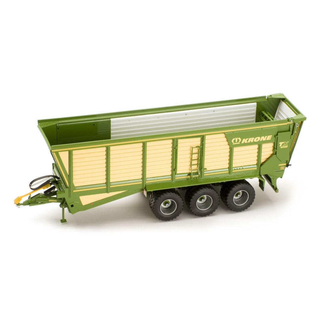 Modellino in scala carro trasporto trinciato Krone